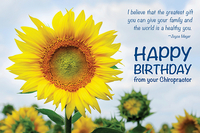 happy birthday sunflowers ; PC136_Sunflower_Gift-web