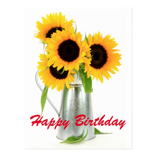 happy birthday sunflowers ; happy_birthday_sunflowers_bouquet_postcard-rd838a3004e404f58998bc2195111354a_vgbaq_8byvr_540