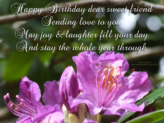 happy birthday sweet friend images ; 303812