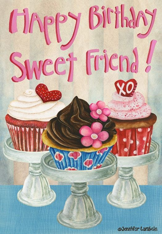 happy birthday sweet friend images ; cdf80dfa6e38691308132af952a8a787