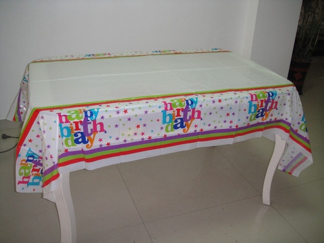 happy birthday tablecloth ; 1pcs-180-108cm-Happy-birthday-theme-PE-Table-Cloth-for-kids-happy-birthday-party-decoration-tablecover