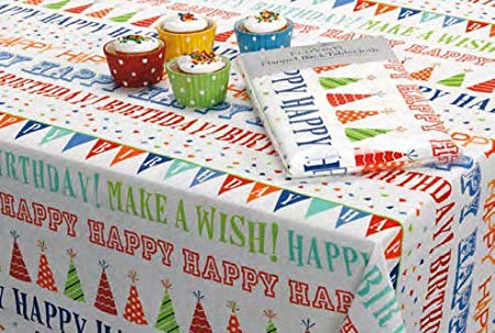happy birthday tablecloth ; 51524JB2HdL