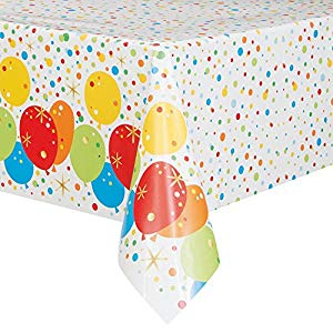happy birthday tablecloth ; 51on2iVgTQL