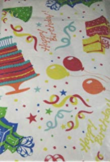 happy birthday tablecloth ; 9156yE3URaL