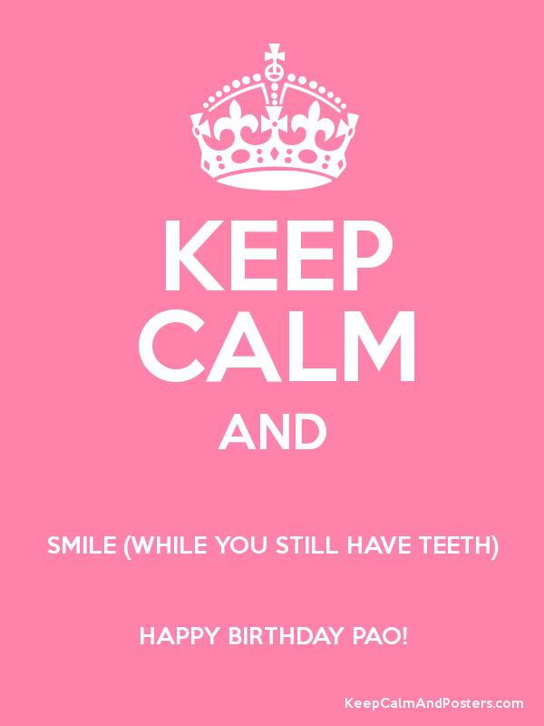 happy birthday teeth ; 86083
