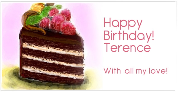 happy birthday terrence ; 7785