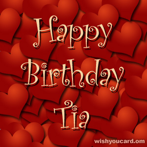 happy birthday tia images ; Tia