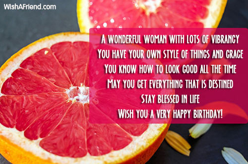 happy birthday to a wonderful lady ; 17332-women-birthday-quotes