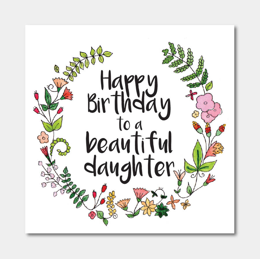 happy birthday to my beautiful daughter images ; original_floral-birthday-card-for-daughter