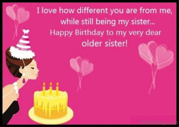 happy birthday to my older sister ; Happy-Birthday-To-My-Very-Dear-Older-Sister-600x424