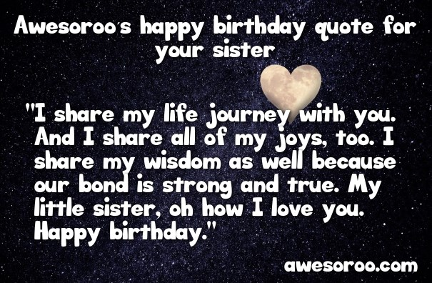 happy birthday to my sister from another mother message ; birthday-quote-for-sister