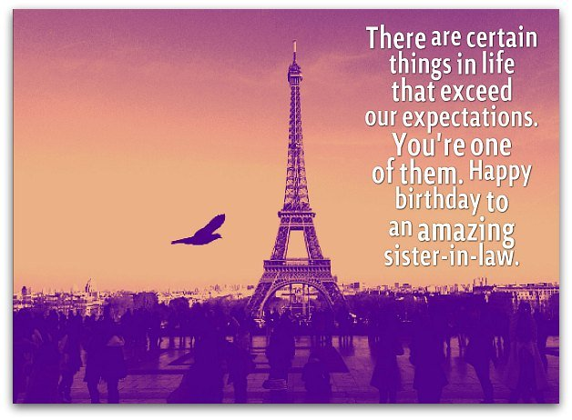 happy birthday to one of the best ; Sister-in-law-birthday-wishes2D