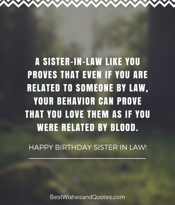 happy birthday to the best sister in law ; 13-5