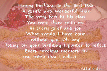 happy birthday to the father of my child ; 2446-dad-birthday-poems
