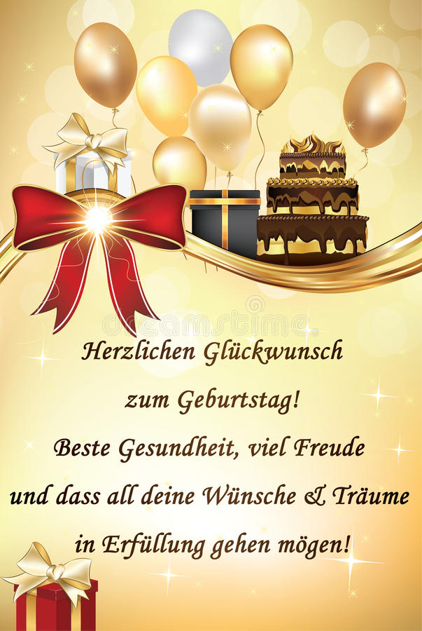 happy birthday to you in german ; german-happy-birthday-greeting-card-balloons-cake-text-may-you-be-healthy-have-lot-friends-all-your-85930284