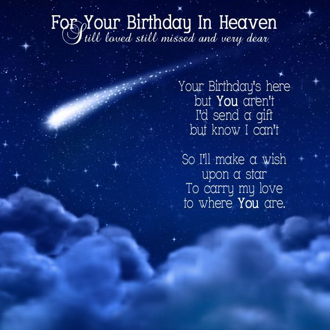 happy birthday to you in heaven ; b79508cc22956c879b90a518910d2887