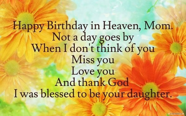 happy birthday to your mom in heaven ; birthday-wishes-for-father-in-heaven