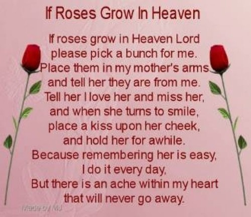 happy birthday to your mom in heaven ; home-design