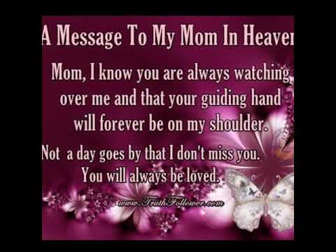 happy birthday to your mom in heaven ; hqdefault