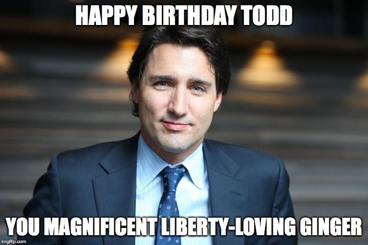 happy birthday todd meme ; 15pbpl