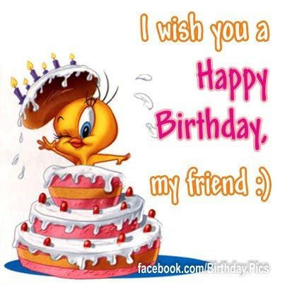 happy birthday tweety ; 103c9b2adf180a91ed8a2981131cbfbd