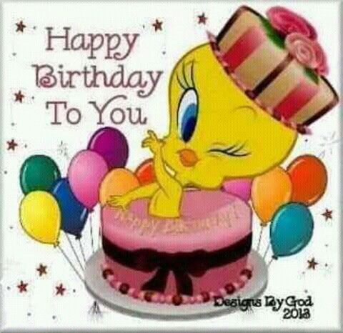 happy birthday tweety ; a02216754fa612081504d95e34c3ce42--tweety