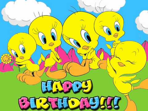 happy birthday tweety ; hqdefault
