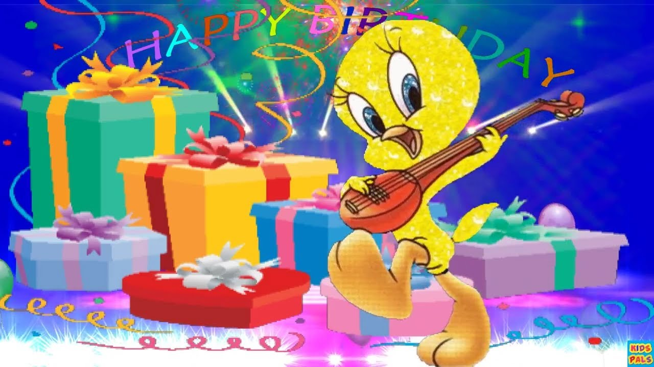 happy birthday tweety ; maxresdefault