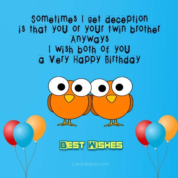happy birthday twin brother card ; best-wishes-for-twins-1