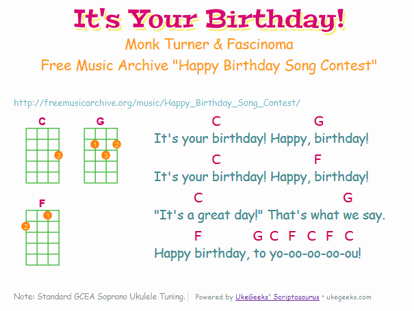 happy birthday ukulele ; happy-birthday-song-chords-ukulele-fresh-it-s-your-birthday-wins-birthday-song-replacement-contest-of-happy-birthday-song-chords-ukulele