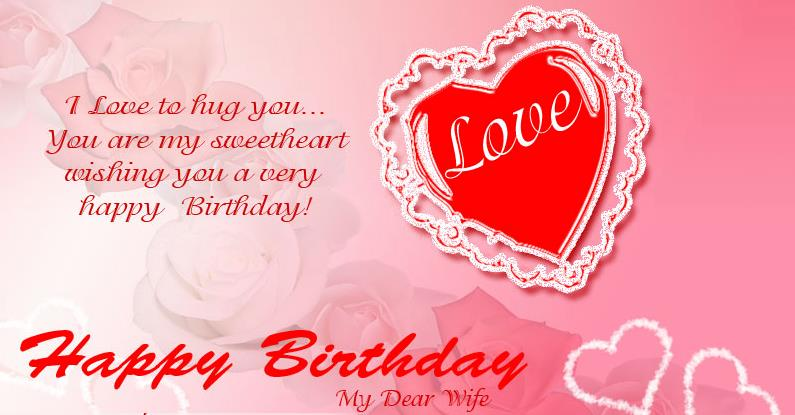 happy birthday wife status message ; Romantic-Birthday-Wishes-for-Lover