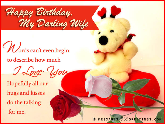 happy birthday wife status message ; happy-birthday-wishes-for-wife-1