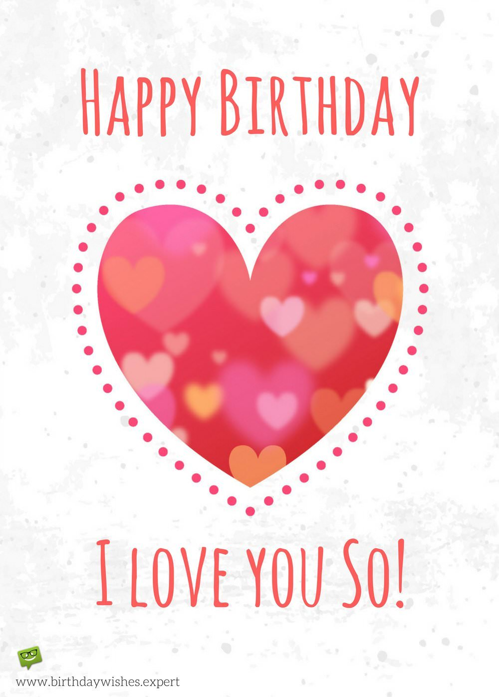 happy birthday wifey ; Happy-Birthday-wish-for-wife-on-image-with-a-big-red-heart-drawn-on-old-paper