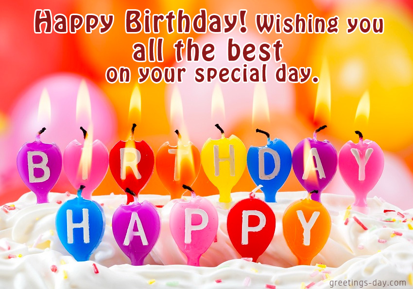 happy birthday wish you and your family all the best ; Happy-Birthday_cake