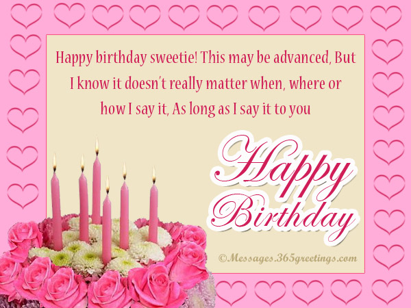 happy birthday wish you and your family all the best ; advance-birthday-wishes-for-girlfriend