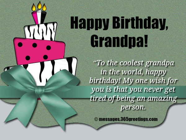 happy birthday wish you have a good one ; birthday-wishes-for-grandpa