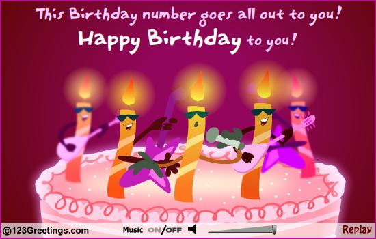 Happy Birthday Wishes Card Free Download Musical Cards