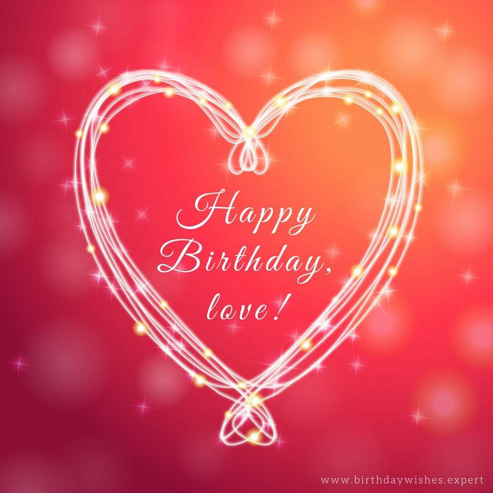 happy birthday wishes for boyfriend ; Birthday-wish-for-boyfriend-on-picture-with-heart-on-red-background