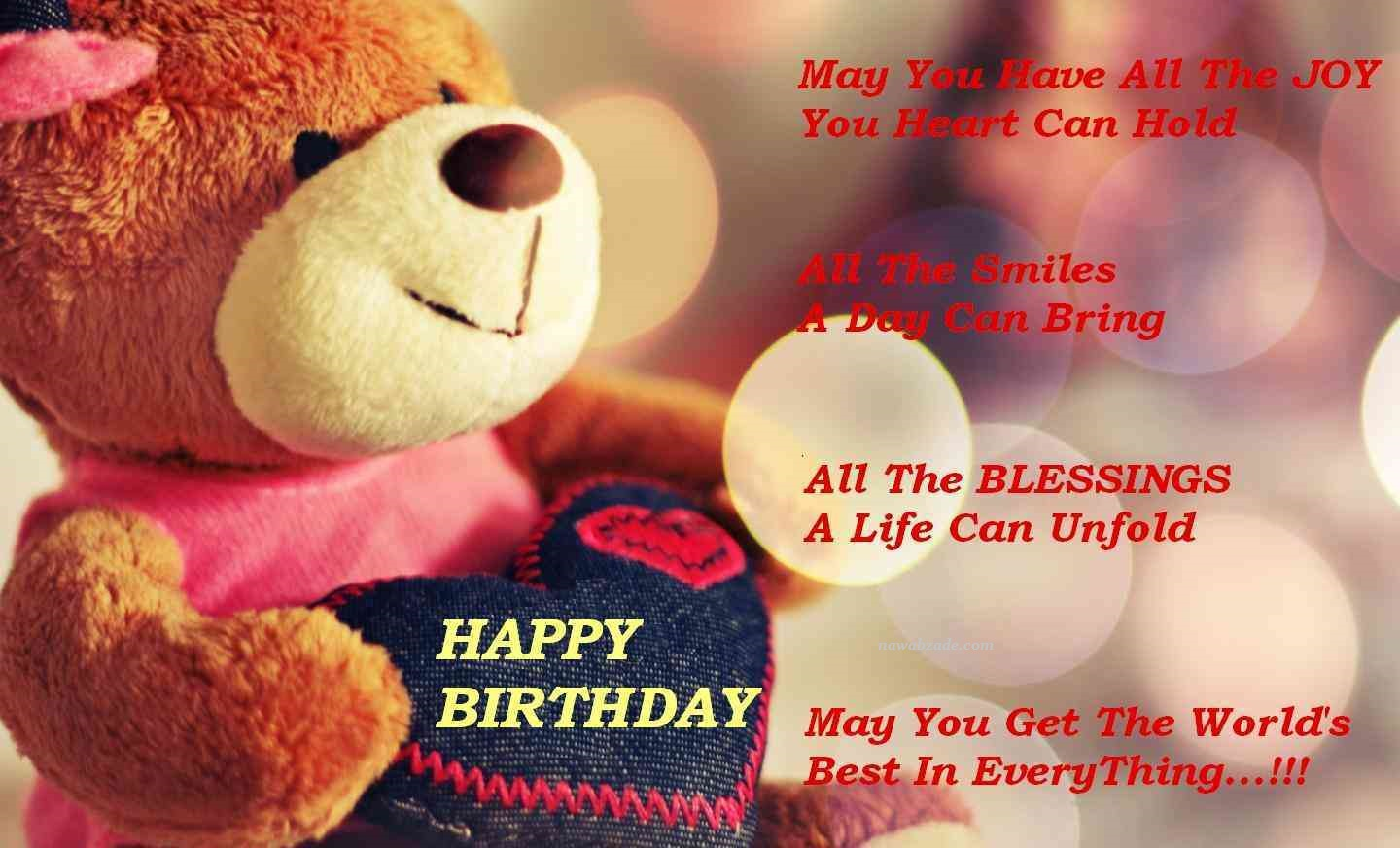 happy birthday wishes for friend message in english ; Cute-Happy-Birthday-Wishes-For-Best-Friend-3