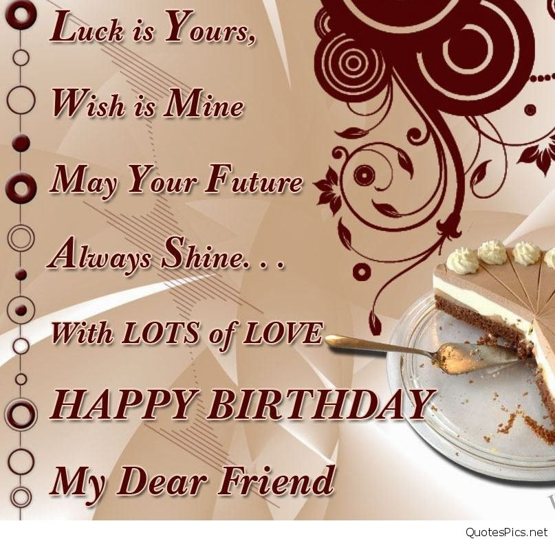 happy birthday wishes for friend message in english ; Happy-Birthday-Wishes-To-Best-Friend-Wallpaper