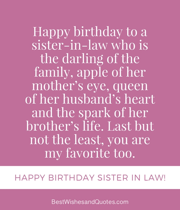 happy birthday wishes for sister in law ; happy-birthday-sister-in-law-quotes