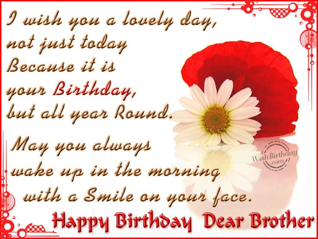 happy birthday wishes to brother from sister ; 42aca0335105f539e7a47fc0e43ce1e2
