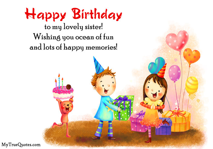 happy birthday wishes to brother from sister ; Happy-Birthday-Wishes-for-Sister