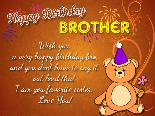 happy birthday wishes to brother from sister ; birthday-wishes-for-brother-images-funny