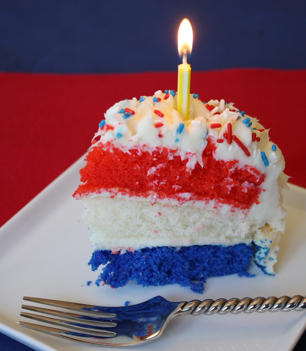 happy fourth of july birthday ; Red-White-and-Blue-Birthday-Cake-2