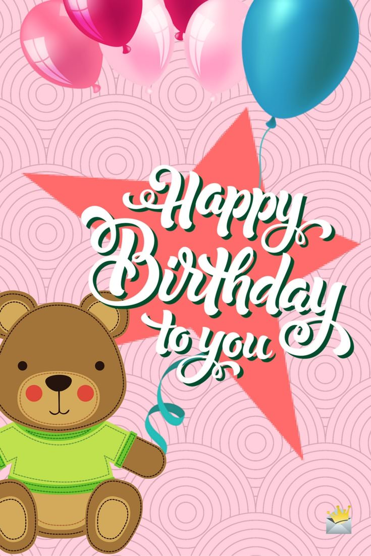happy to birthday ; Happy-Birthday-to-you-Cute-Teddy-bear
