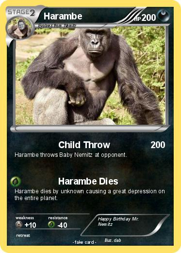 harambe birthday card ; GBZitdYllCqm