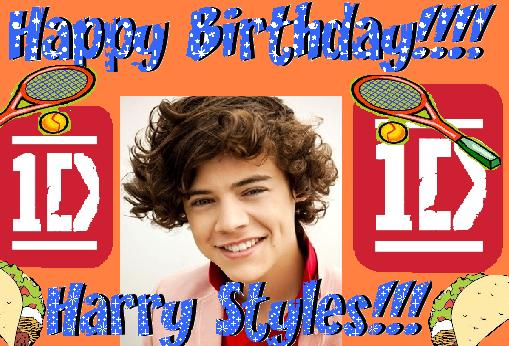 harry styles happy birthday card ; happy-birthday-hary