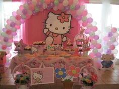 hello kitty design for birthday ; 8f11edde56fd210c133dfb5cbed5bd42--hello-kitty-parties-kitty-party