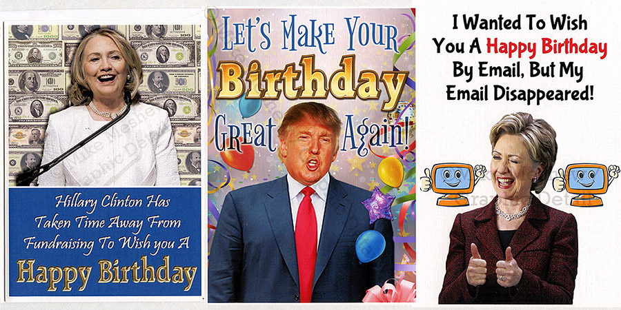 hillary clinton birthday card ; Trump_and_Hillary_900x450_number_one